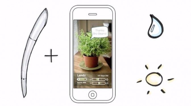 Thrive Plant Sensor – Der grüne, smarte Daumen